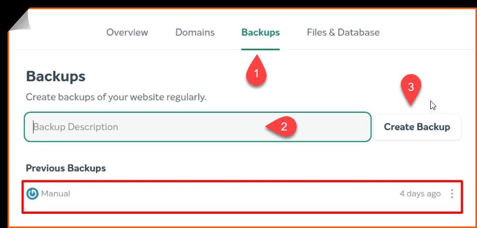 EasyWP Backup